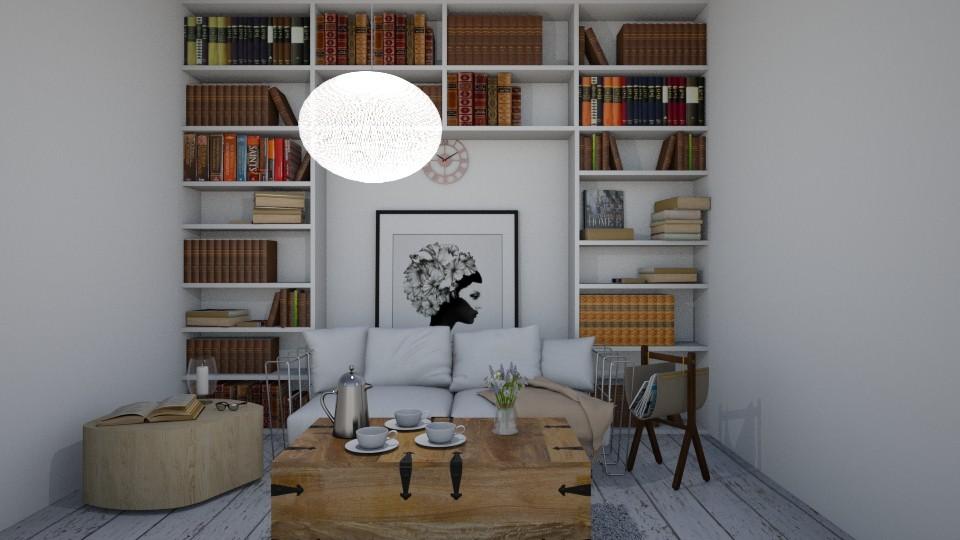 Shabby Chic Living Room - by __Nikoletta__