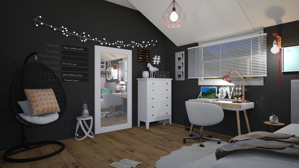 allo - Bedroom - by carmenouloulou