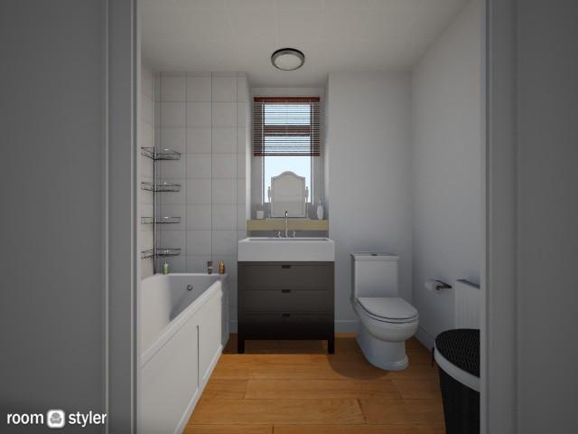 Our bathroom 2 - Bathroom - by sarahbatty