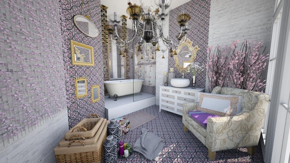 Boho Bathroom - Bathroom - by Oshee