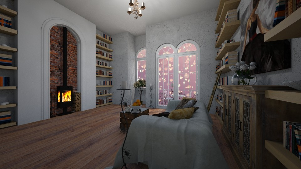perfect readding room - Living room - by seldina