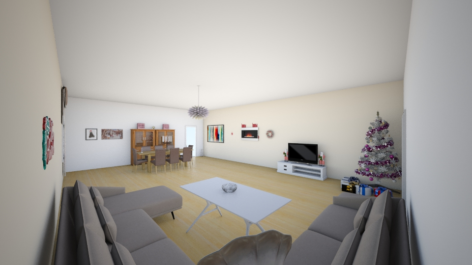 chrismas living room - Living room - by imane el moustaid