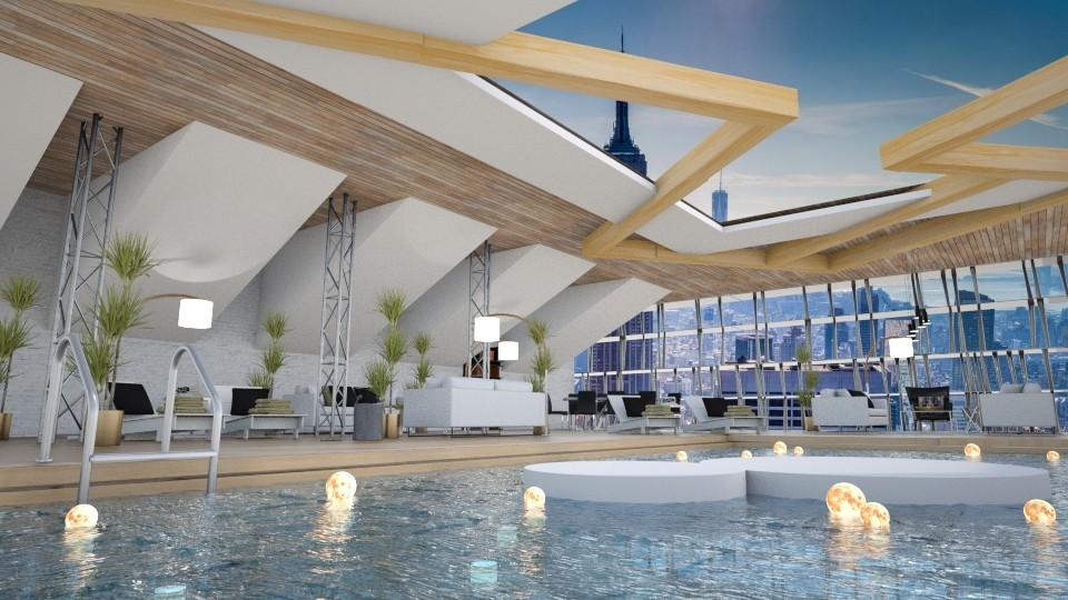 Pool - by aniachoynowska