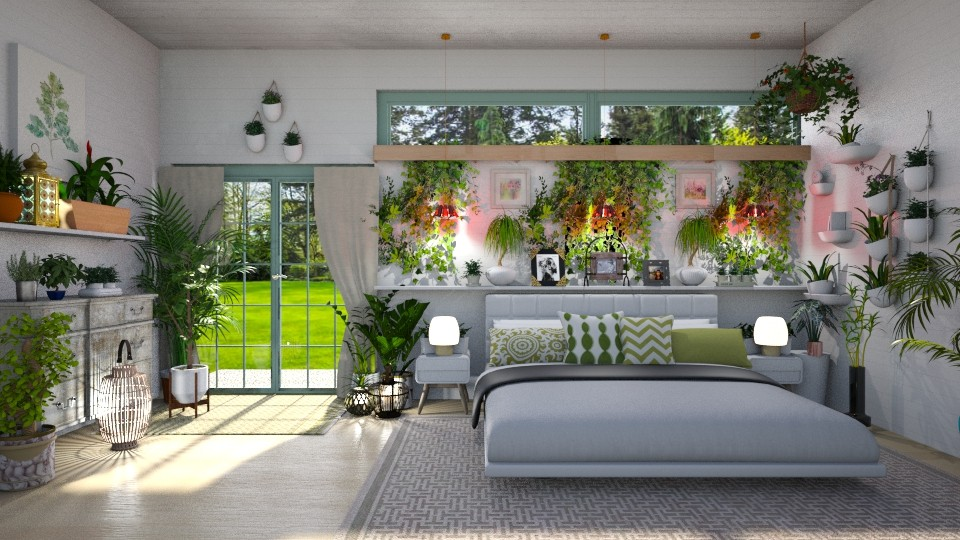 Urban Jungle BR - Bedroom - by  krc60