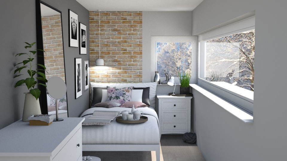 small bedroom - Bedroom - by bohdalkovakata