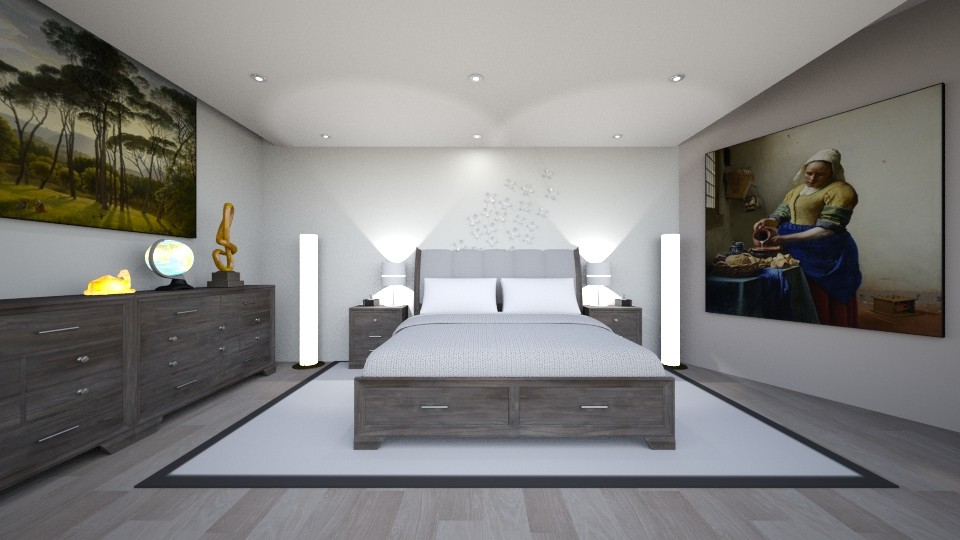Schlafraum - Bedroom - by Ropertz Raumdesign