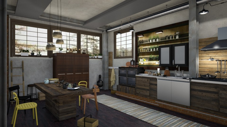 Loft Kitchen - by marocco