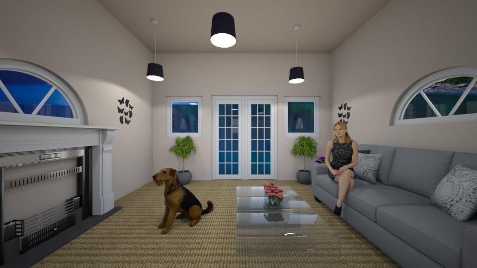 design3 - Living room - by 1g