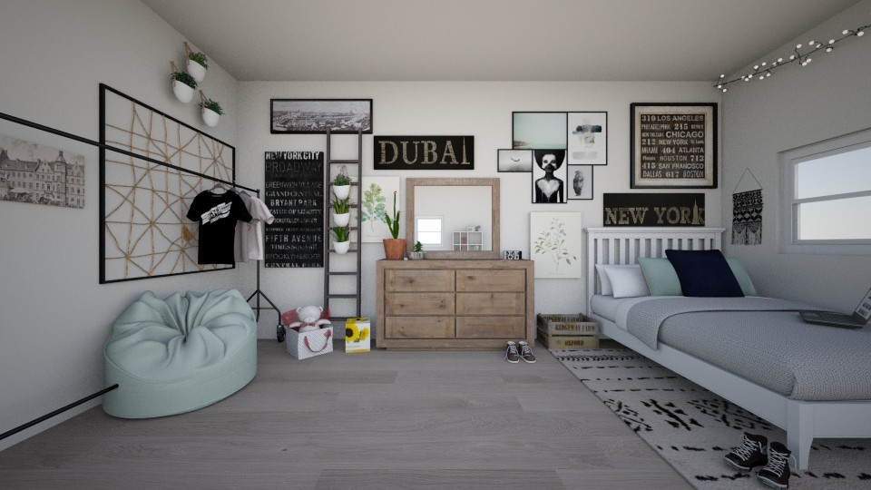 Adalyn - Modern - Bedroom - by avianaelizabeth