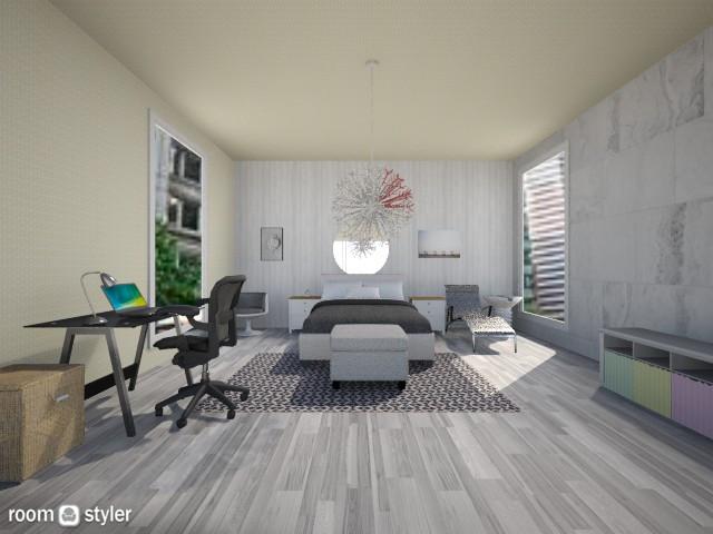 room - Bedroom - by elen demiryan