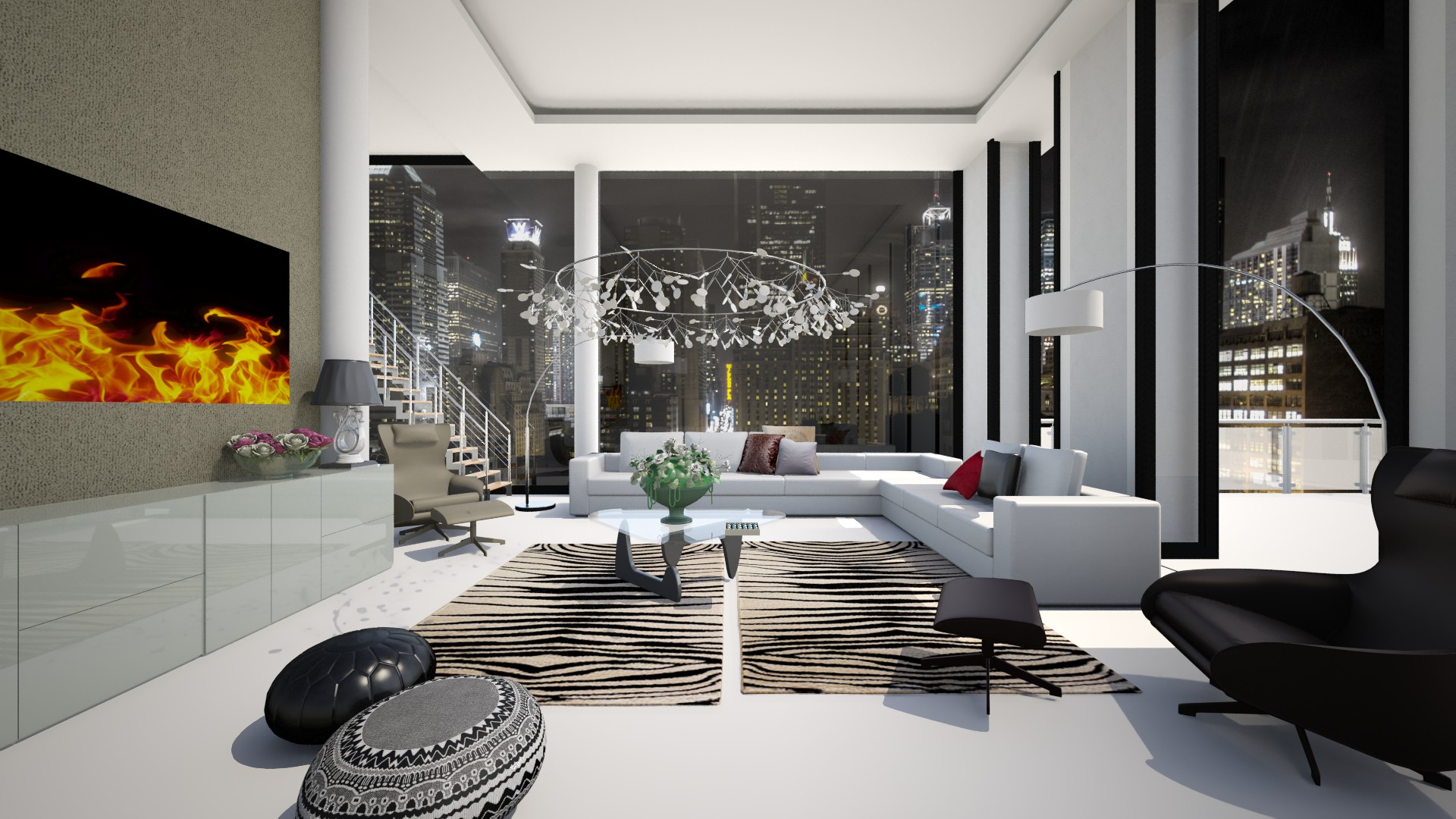 just full with stuffs - Modern - Living room - by i dont care