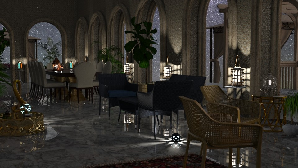 Jaya Nights3GatherIRay - Classic - Living room - by anchajaya