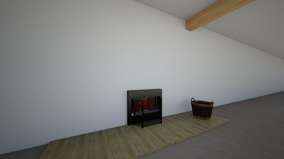 ofice - Living room - by diwka