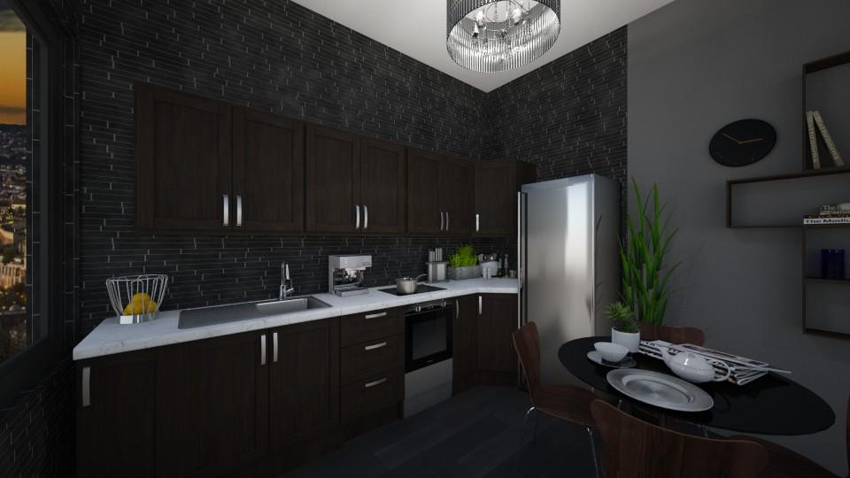 manroom - Kitchen - by Eszter Potor