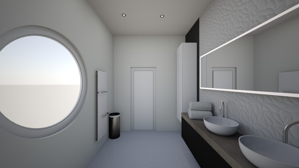 SDB fictive - Bathroom - by ManonGenard