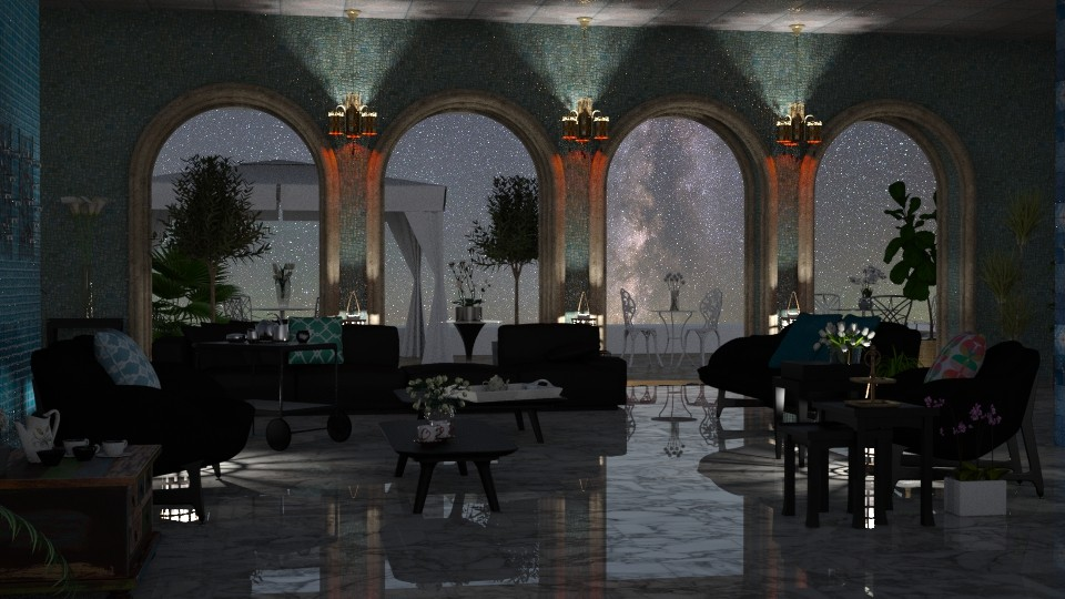 Jaya Nights4IRay - Global - Living room - by anchajaya