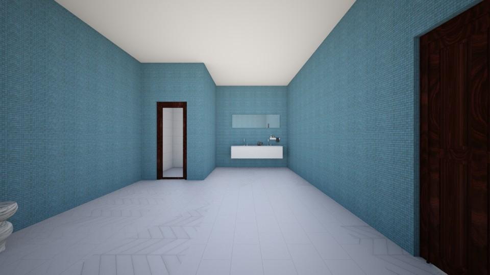Basement Apartment Part 3 - Modern - Bathroom - by ilovepie