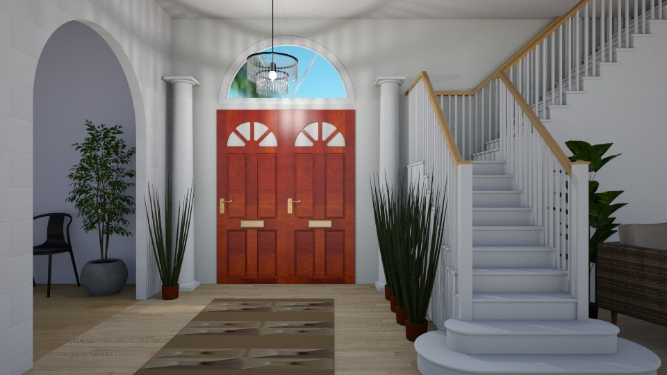 Mansion Entry - by millerfam