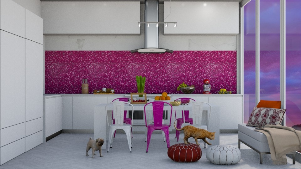 Desert Dusk - Modern - Kitchen - by bgref