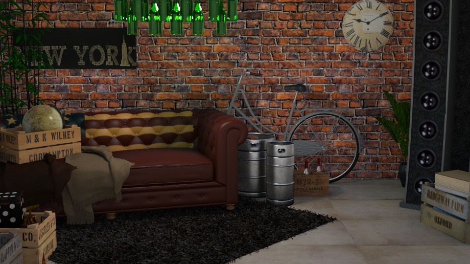 Cellar - Living room - by sillvie