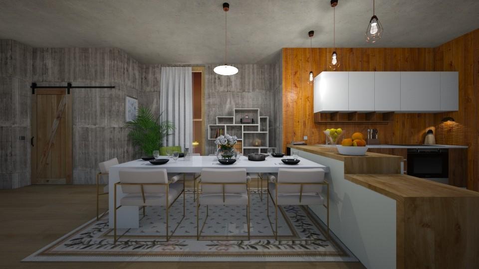Hhh - Kitchen - by 532johanna