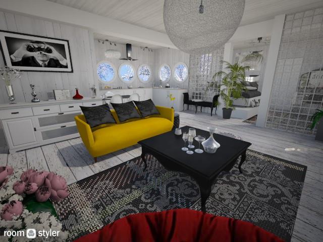modern studio - by yarah