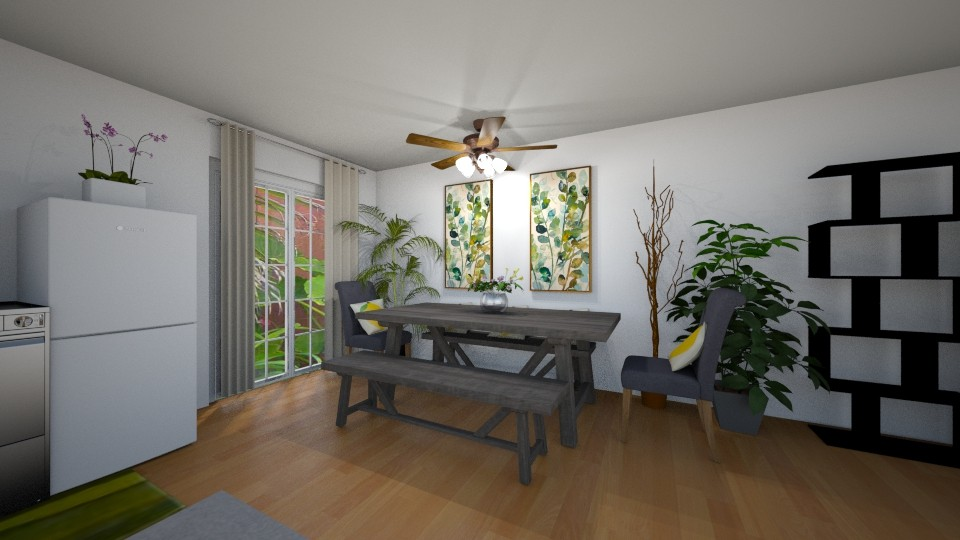 Dining Room 150 Sq Ft - Modern - by gracesteban