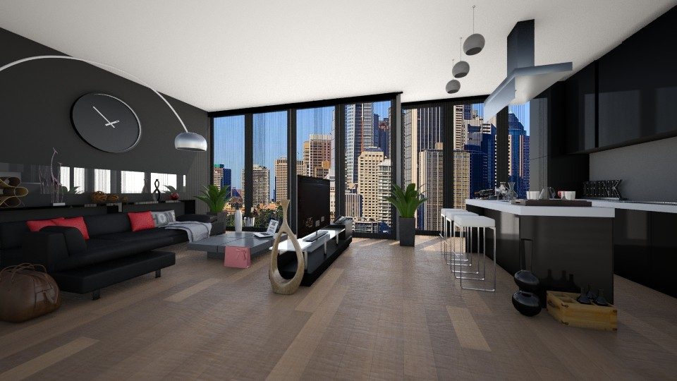 Design 4 _ To live good - Modern - Living room - by ExpressYourself
