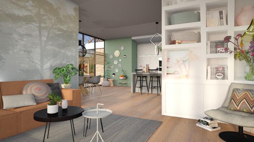Woningwens  - Living room - by Gwenda van Maaren