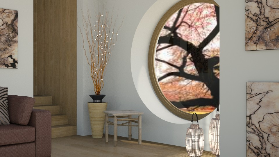 Round Window - Global - Living room - by millerfam