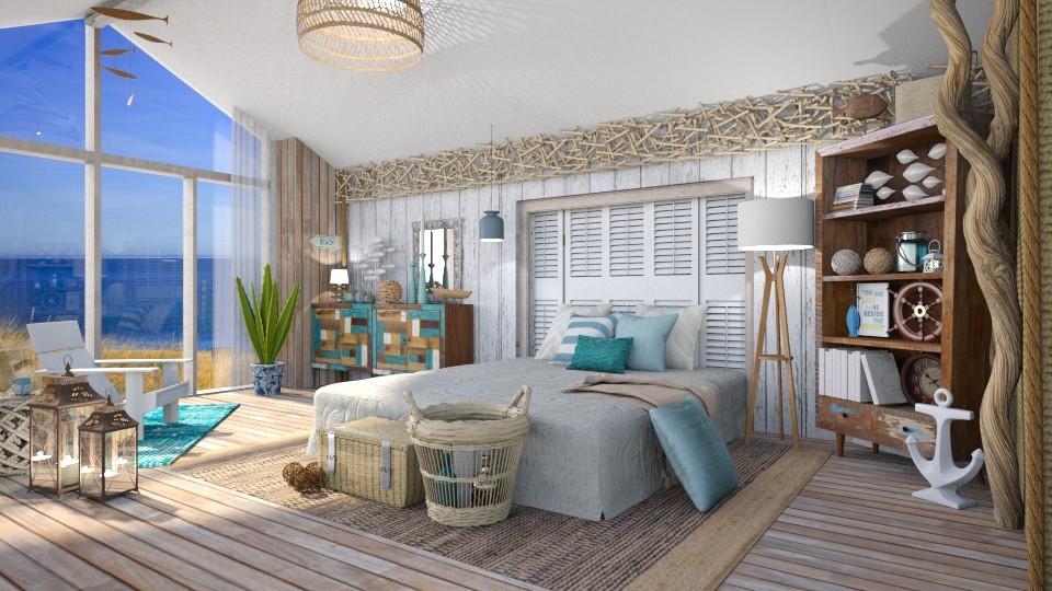 Nautic Bedroom - Global - Bedroom - by Mandine