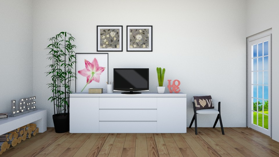 Be simple - Eclectic - Living room - by haya okdeh