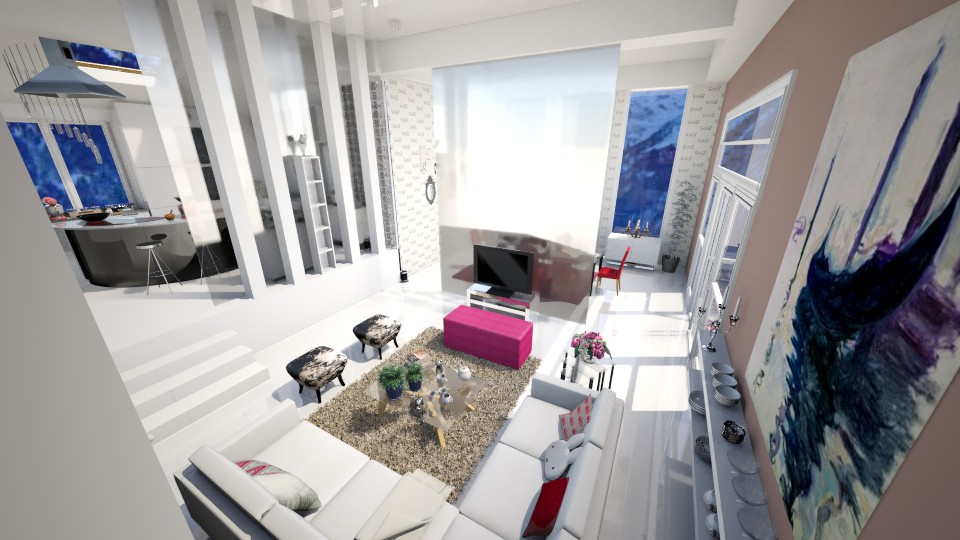 Lovely Apartment LR2 - Eclectic - Living room - by Sweety Sophie