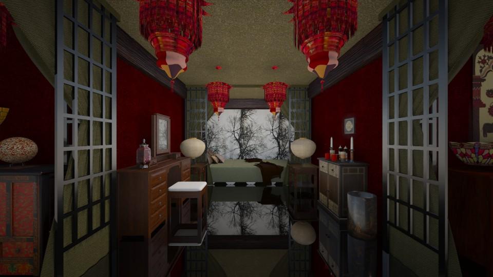 古色古香 - Bedroom - by Ni NI