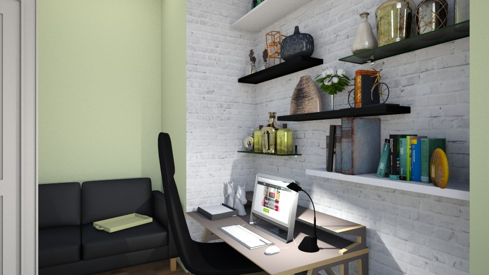 Kiwi Colors - Office - by _PeaceLady_