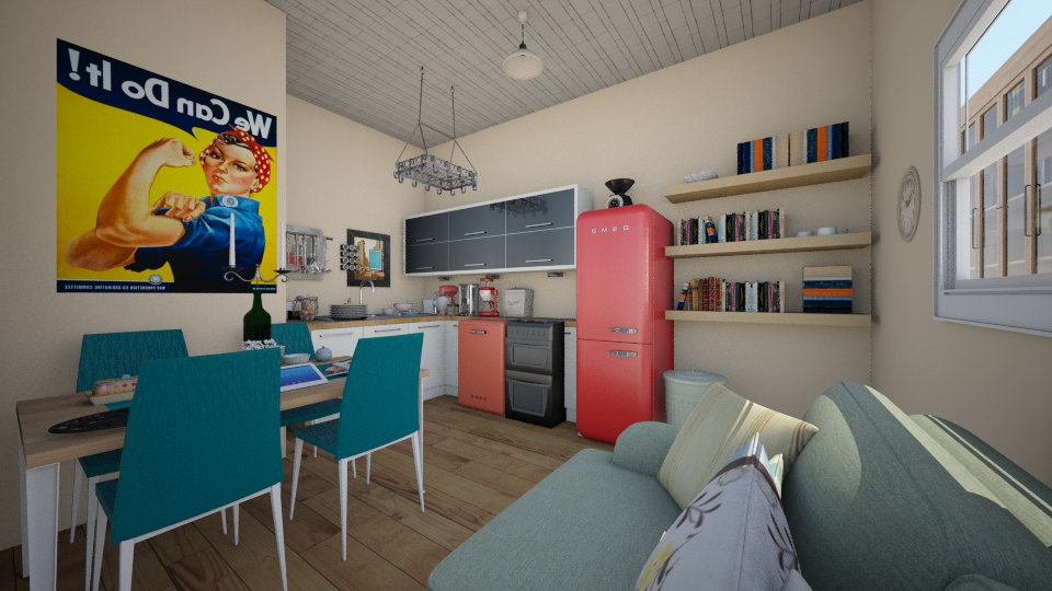 Box Apartment - by PeculiarLeah