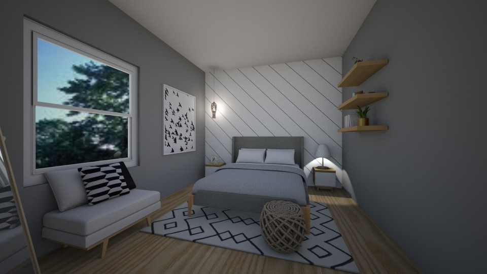 small apartment bedroom - Kitchen - by erladisgudmunds