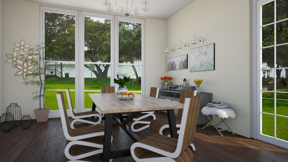 Simple - Classic - Dining room - by Noa Sardoz