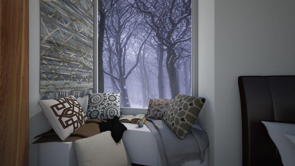 Window Sill - by RhonaFiles