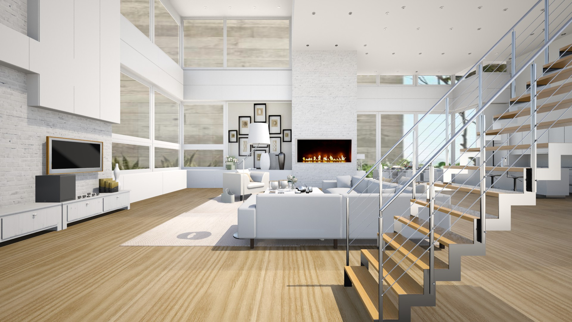 Splitlevel Home contest on Roomstyler
