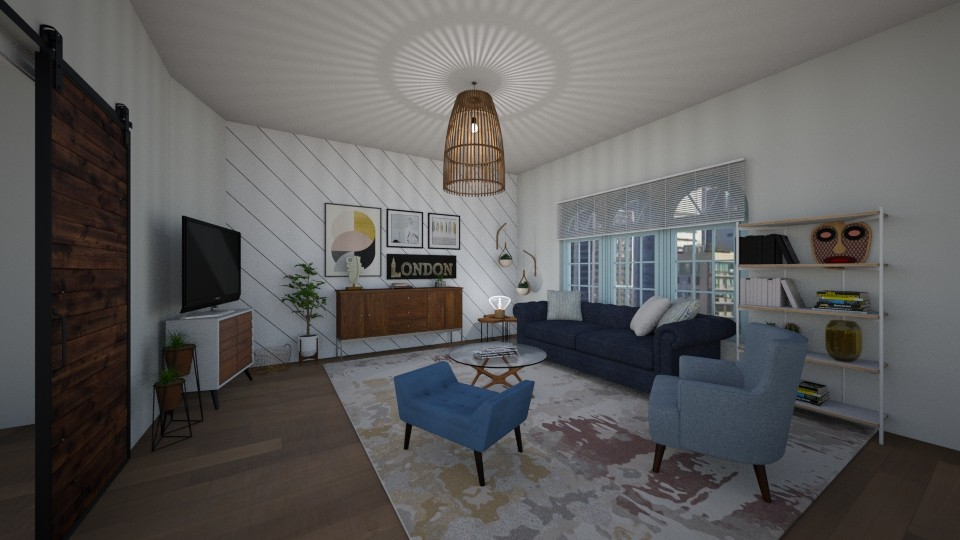 living space of apartment - by megan24k