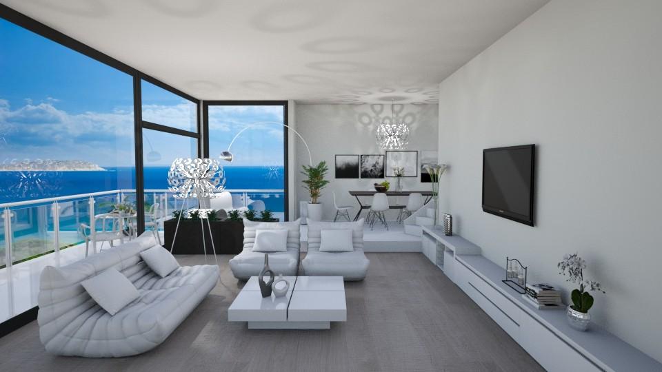 Modern Living Room - by tiara7