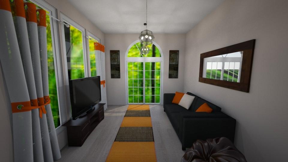 Beavers Football Room - Classic - Living room - by millerfam