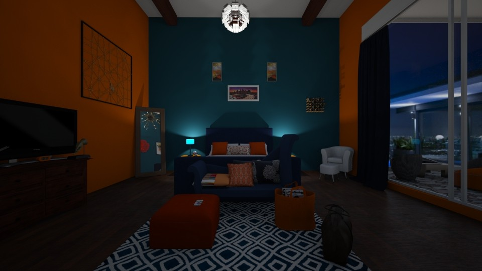 living life in color - Modern - Bedroom - by Sarahjeanxo