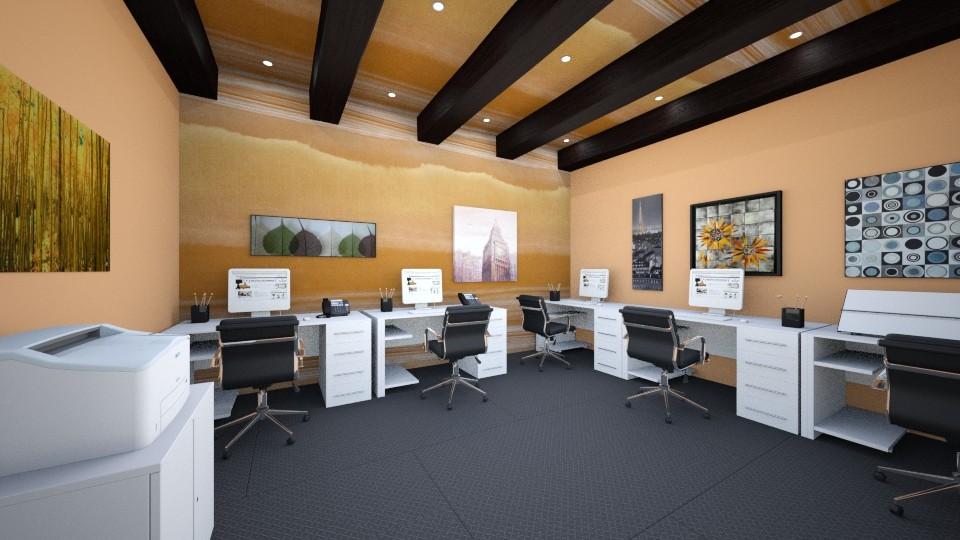 office render - Minimal - Office - by joshdelossaints