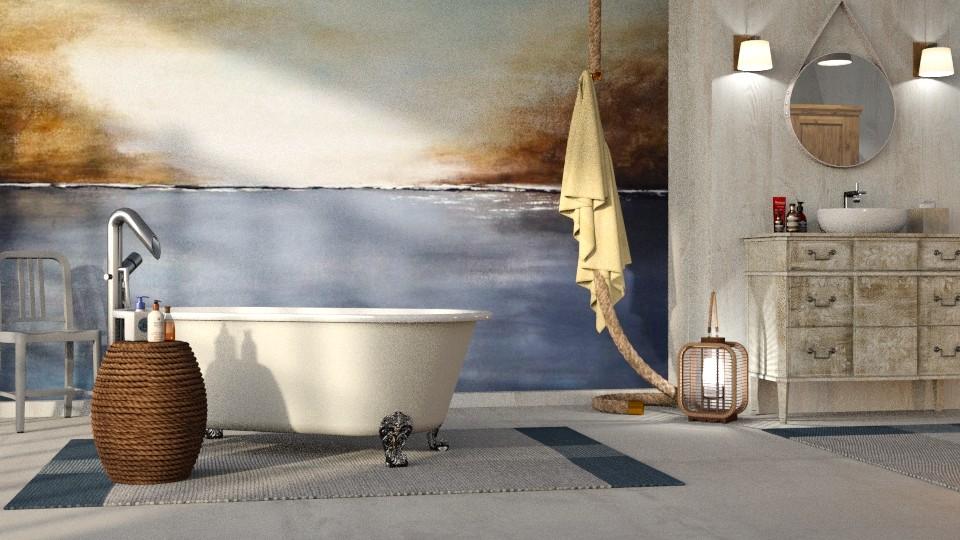 Nautical Bathroom - Bathroom - by GraceKathryn