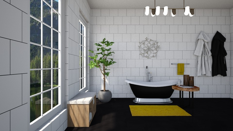 simple bathroom - by martynare3