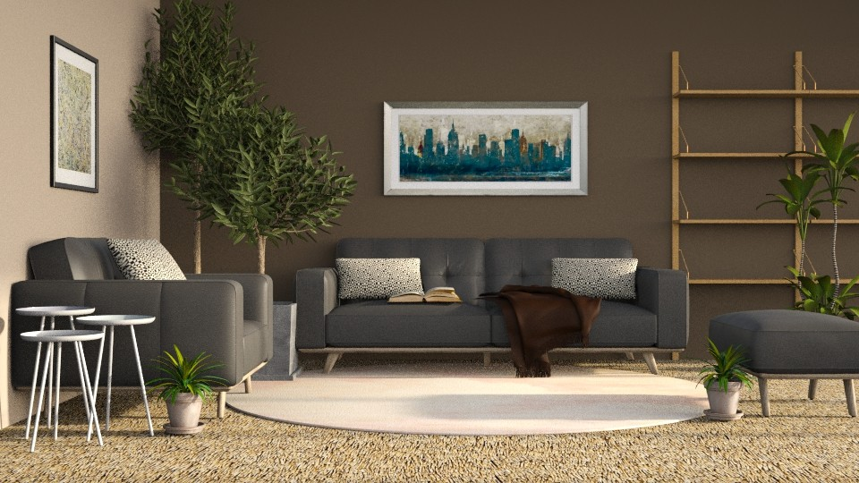 Chocolate - Modern - Living room - by millerfam