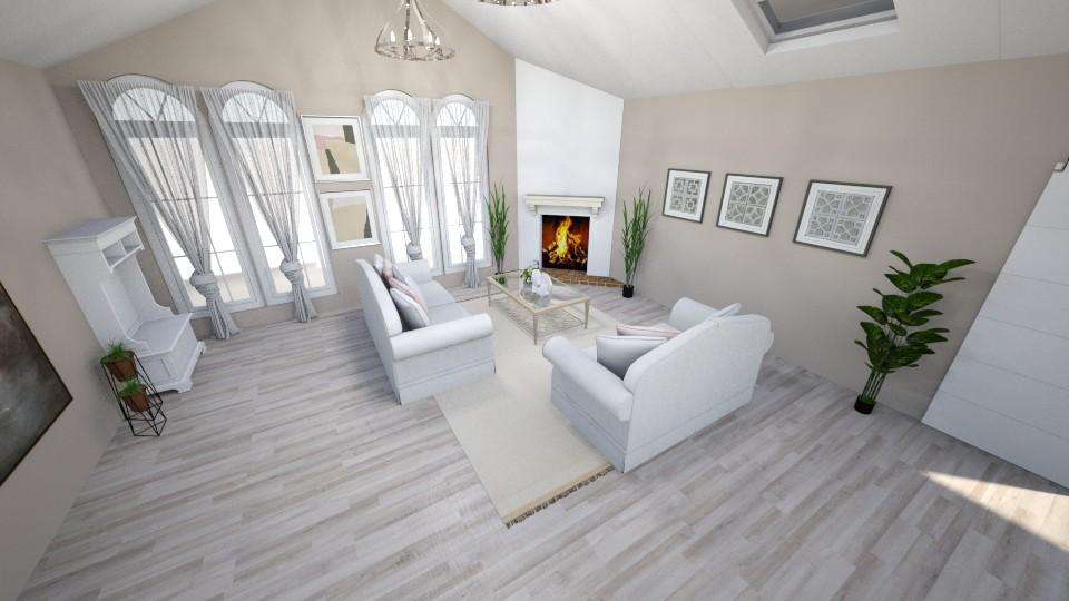Shabby Chique Livingroom - Feminine - Living room - by NikLaurayne