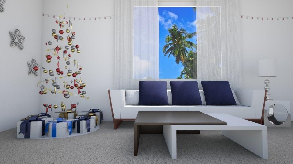 Bit of Christmas Spirit - Living room - by Agni Samil